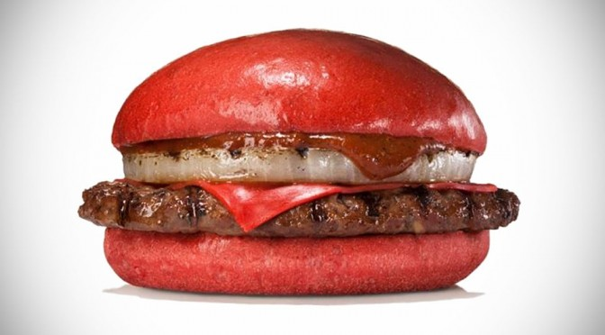 Red Burgers by Burger King Japan