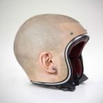 Designer Jyo John Mulloor Reimagined Helmets as Bare Human Heads, Yikes Factor Included