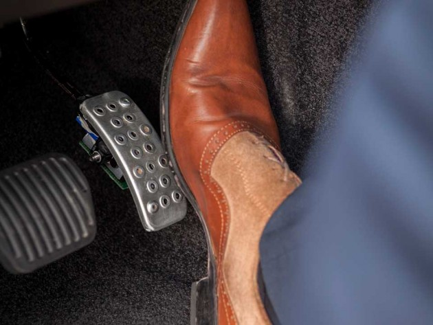 Jaguar Land Rover Road Safety Research - Haptic Accelerator Pedal