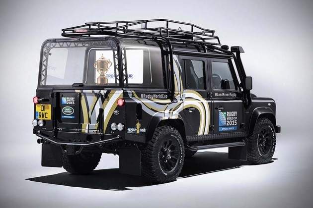 Land Rover Rugby World Cup 2015 Defender