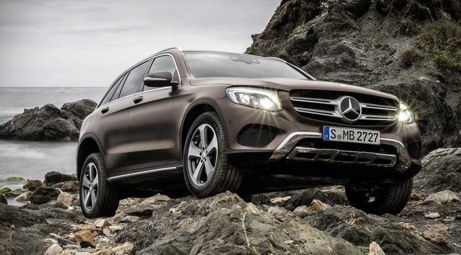 Mercedes-Benz GLC Compact Utility Vehicle Unveiled, Four Models to be Offered at Launch