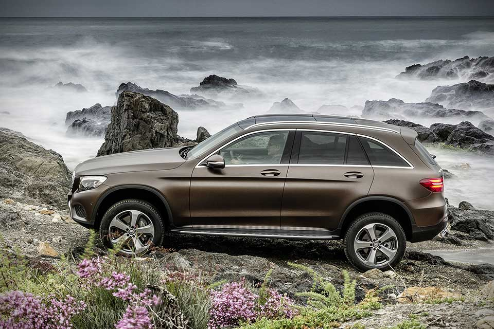 Mercedes-Benz GLC Compact Utility Vehicle Unveiled, Four Models to be Offered at Launch - MIKESHOUTS