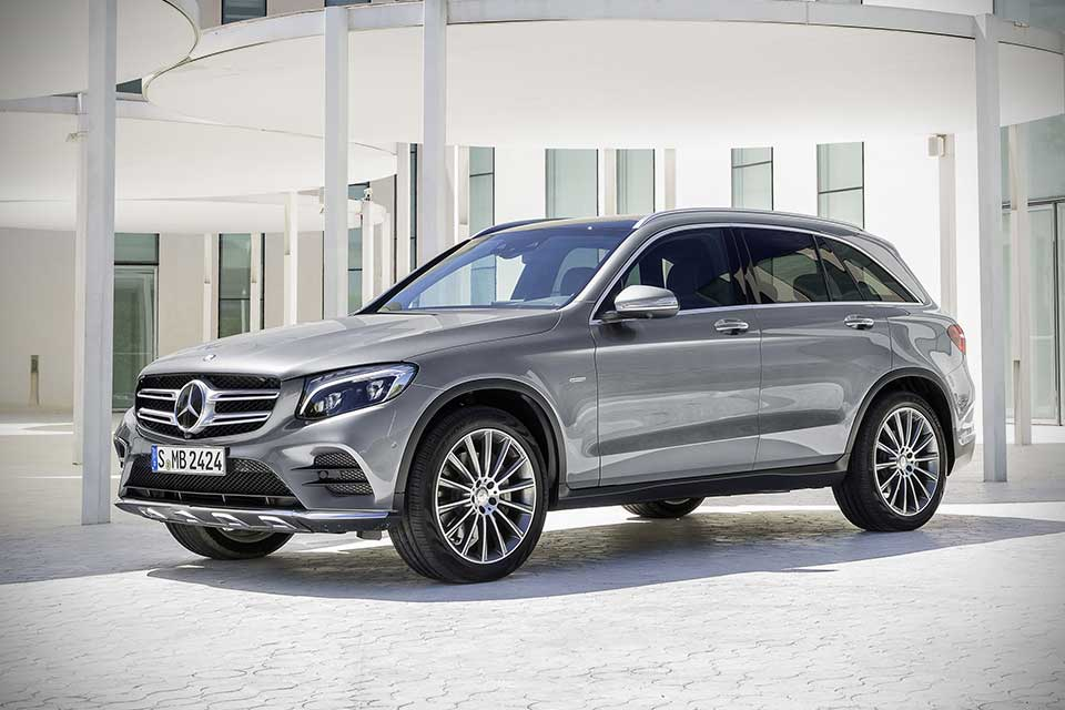mercedesbenz glc compact utility vehicle unveiled four