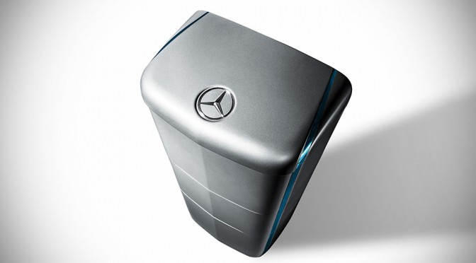 Mercedes-Benz Goes Head-to-Head with Tesla with its Own Home Battery