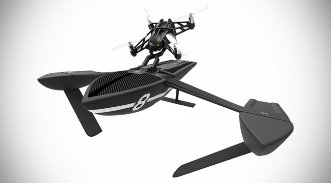 Parrot Unveiled 13 New Minidrones, Including Drone-powered Hydrofoils