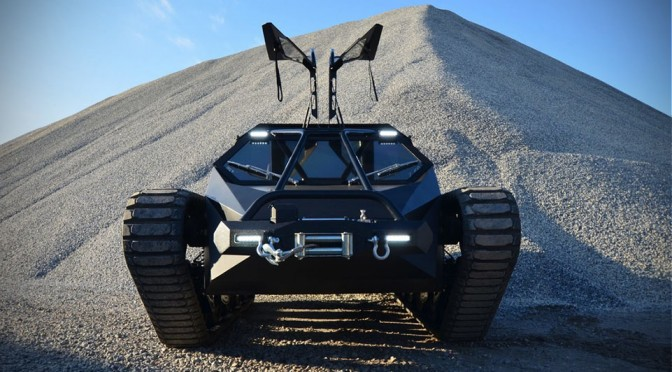 Ripsaw EV2 Luxury Super Tank Has No Big Gun, But Does Jumps and Drifts