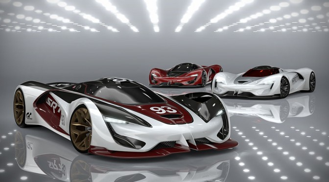 SRT Tomahawk Vision Gran Turismo is SRT 20 Years into the Future, Packs a Mind-blowing 2,590HP