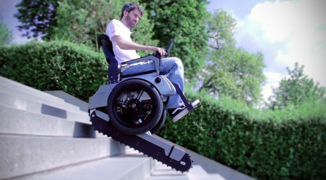 Thanks to Scalevo, Stairs Will Cease To Be An Obstacle to Wheelchairs