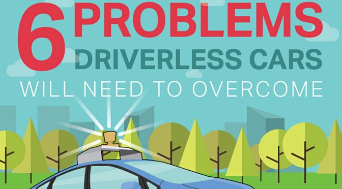 Six Problems Driveless Cars Will Need to Overcome
