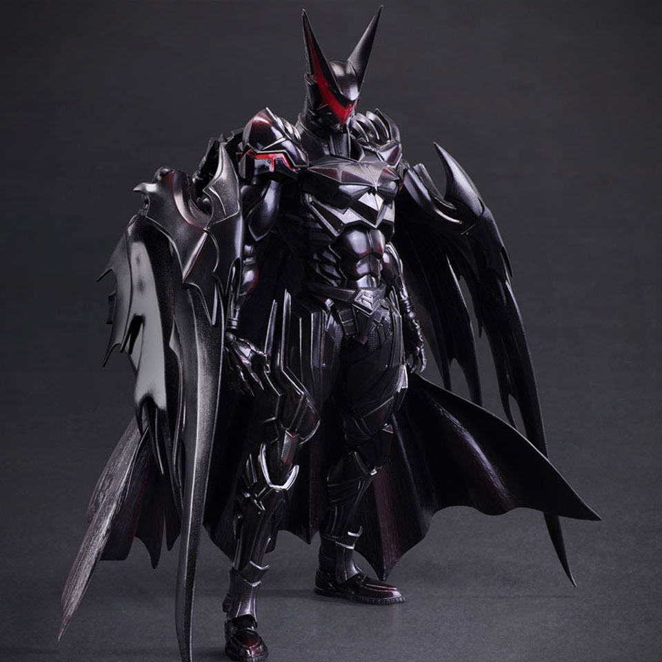 Square Enix's Iteration of Batman is as Creepy as it is ...