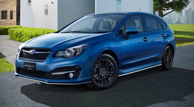 Subaru's Second Hybrid is an Impreza Sport, Goes On Sale in Japan in July