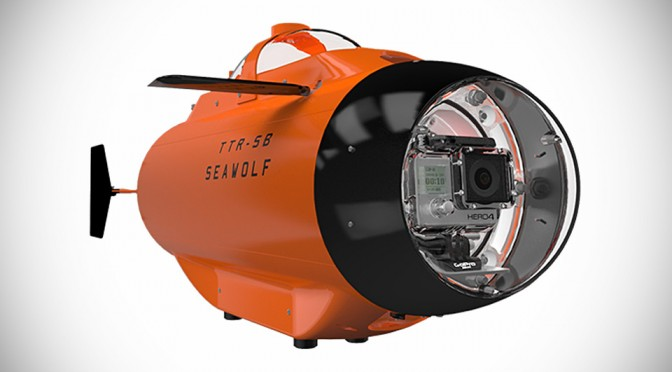Seawolf Will Take Your GoPro 10m Deep into the Ocean to Capture Underwater Footages