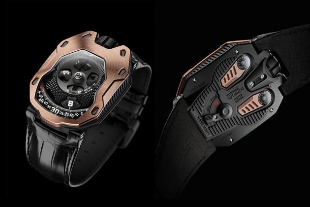 """URWERK UR-105 TA """"RG"""" Watch"""