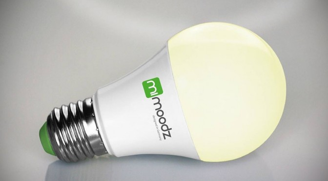 mimoodz: A Full-fledged, Smartphone-controllable Smart LED Bulb That's Totally Affordable