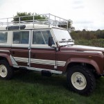 Restored 1983 Land Rover 110 is Not Quite the Original But Still a Beauty