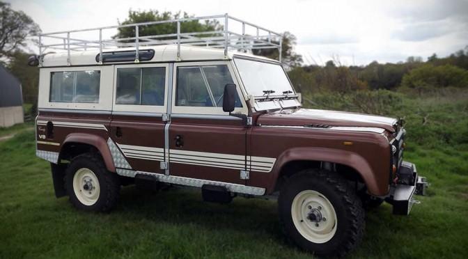 1983 Land Rover 110 V8 Country Station Wagon