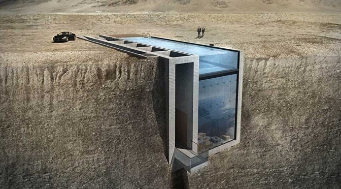 Casa Brutale: Why Hang off a Cliff When You Can Live Inside the Cliff?
