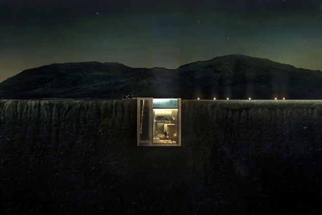 Casa Brutale Cliff House by OPA