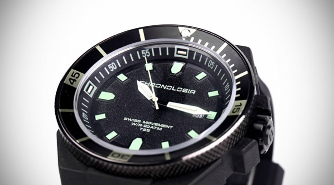 Chronologia Trigalight Dive Watch
