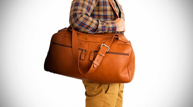 Chivote's Iteration of the Classic Duffel Bag Oozes with Class and Style