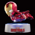 Iron Man Mk III Amor from Iron Man 3 Joins the Magnetic Floating Series