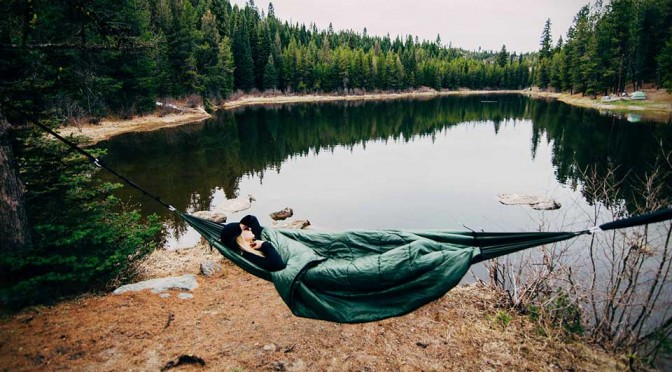 Bison Two-in-One Hammock/Sleeping Bag Now Has Triple Layer Insulation to Keep You Cosy Warm