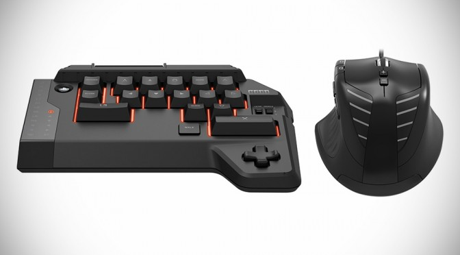 Hori Tactical Assault Commander 4 Adds 'Keyboard' and Mouse to Your PS4