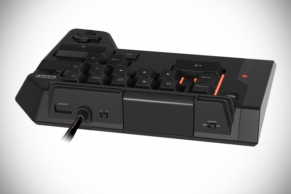 hori tactical assault commander 4 adds keyboard and mouse to your ps4 mikeshouts. Black Bedroom Furniture Sets. Home Design Ideas
