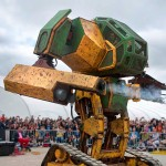 Americans Built Big-ass Robot, Challenges Japan's Kuratas to a Giant Robot Showdown