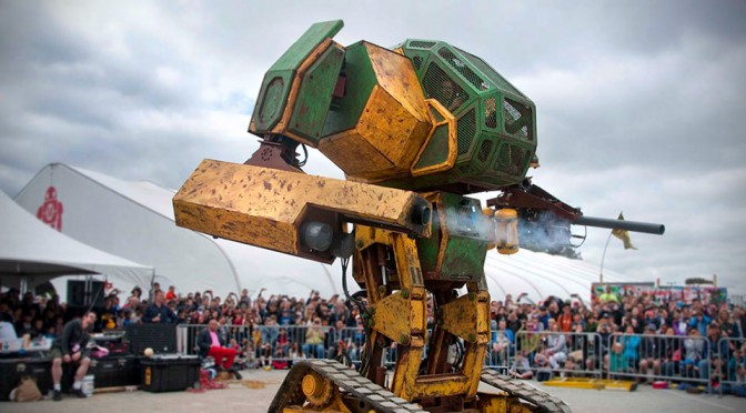 MegaBots Giant Fighting Robot