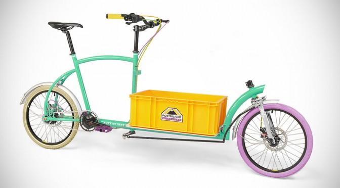 Bringley Cargo Bicycle by Porterlight