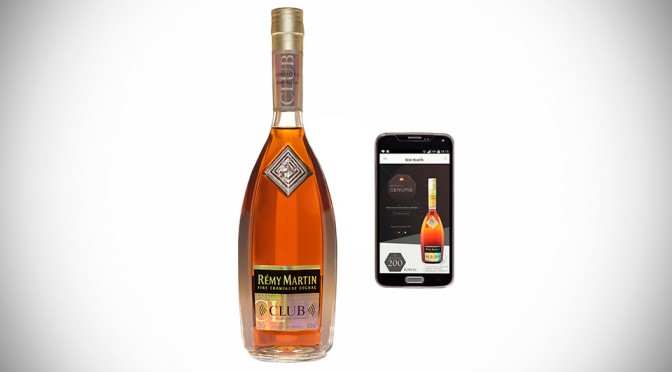 Rémy Martin Club Connected Bottle