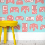 Retro Gaming Controllers Wallpaper is Exactly What Gaming Geeks Need