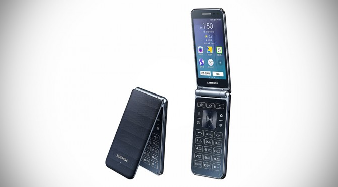 Samsung Galaxy Folder Android Flip Phone
