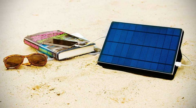 Solar Charger Gets Seriously Functional and Stylish with SolarTab