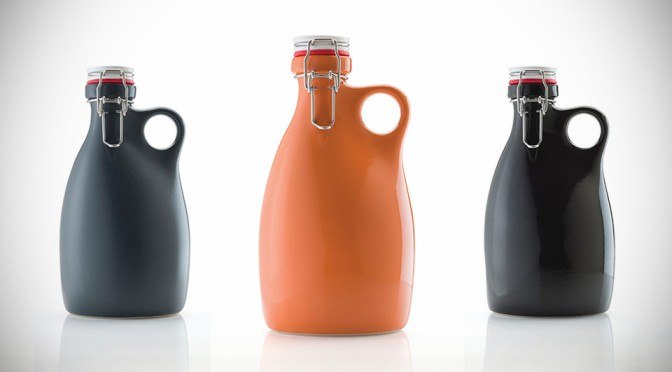 Stoneware Growler Goes Back to Basic, Could be the Most Stylish Growler Yet