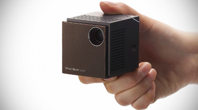 UO Smart Beam Laser Projector Puts 100-inch of Crisp HD Projection in the Palm of Your Hand