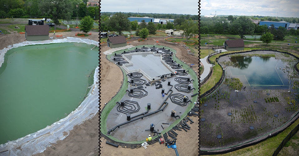 North minneapolis opens first public natural swimming pool in the u s mikeshouts Natural swimming pool builders