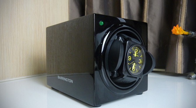 Barrington Single Watch Winder is a Classy Watch Winder That Won't Break Your Bank [Review]