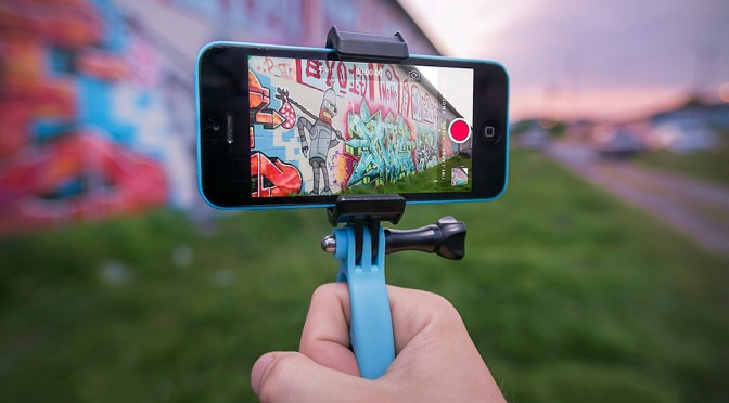FreeRide Smartphone Mount Lets You Use Your Smartphone with Any GoPro HERO Mount