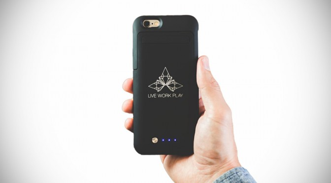 Hybrid Power Case for iPhone 6 by Live Work Play