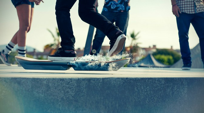Lexus Hoverboard is Not Only Real, But it Can Hover Over Water too!