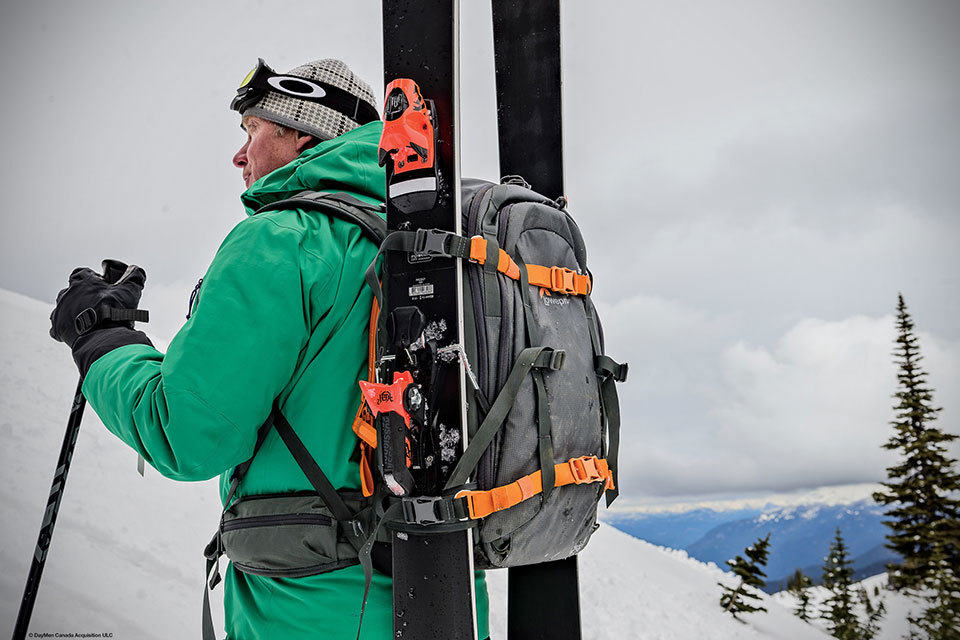You Can Carry Skis With The Lowepro Whistle Series Photo