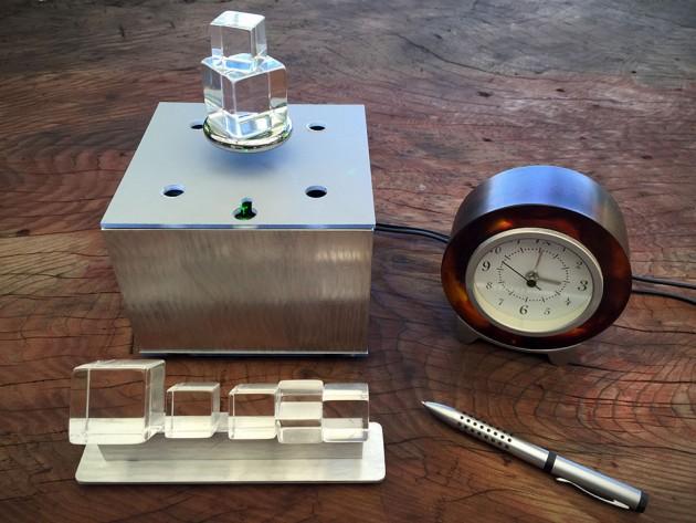 Magic Cube: Levitating Laser-lighted Prisms