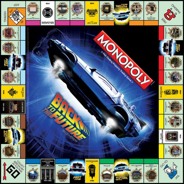 Monopoly Back to the Future Trilogy Edition