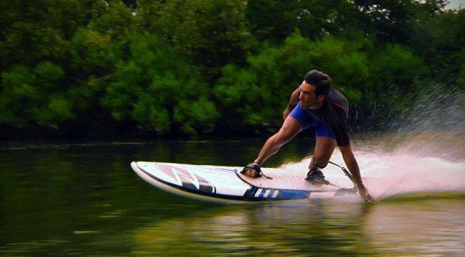 You Don't Need Waves to Surf with Onean Electric Surfboard