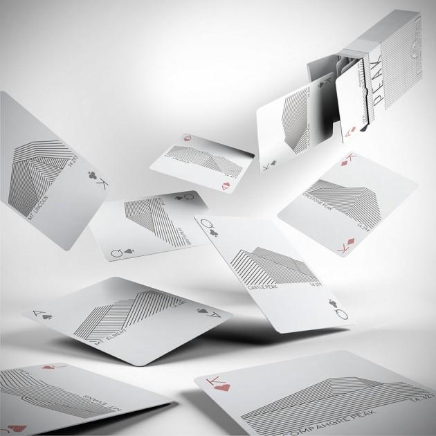 Peak Playing Cards by Karl Larson