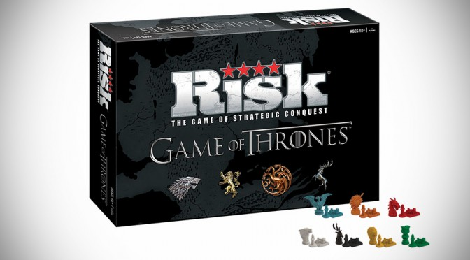 RISK: Game of Thrones Edition is a Fitting Board Game for the Power and Territory-Obsessed TV Show