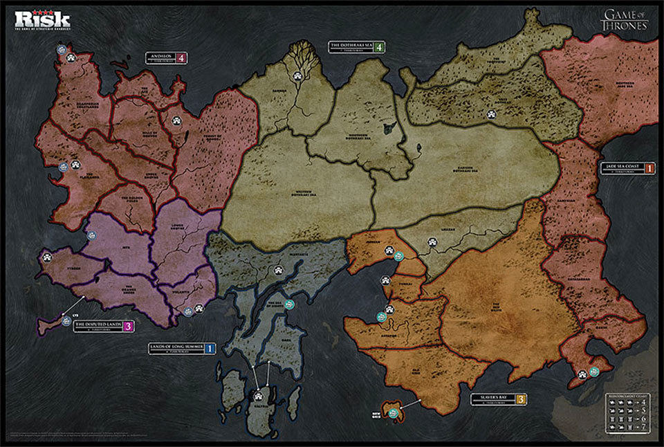 RISK: Game of Thrones Edition is a Fitting Board Game for the Power and Territory-Obsessed TV ...