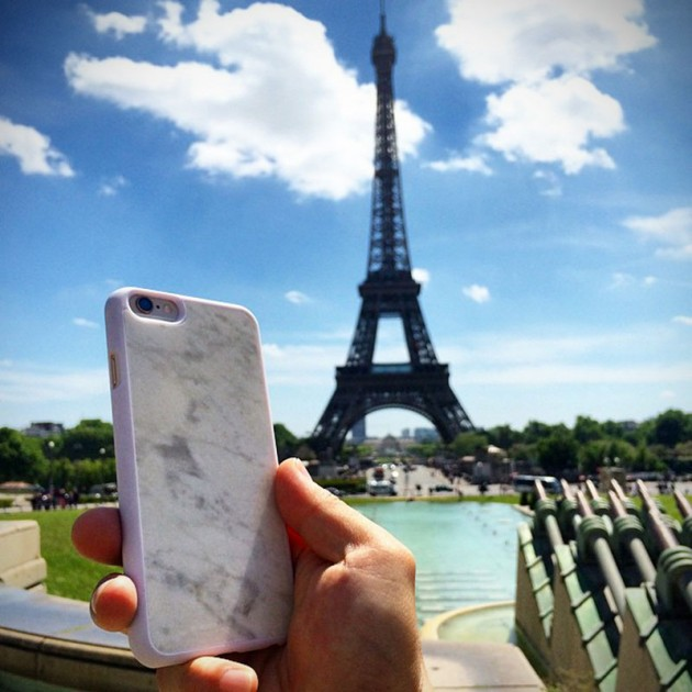 Real Marble iPhone Case by Mikol